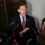 "Judiciary Committee member Sen. Richard Blumenthal, D-Conn., talks to media on Capitol Hill in Washington, Wednesday, May 3, 2017, after FBI Director James Comey testified before the Senate Judiciary Committee hearing: ""Oversight of the Federal Bureau of Investigation."" (AP Photo/Carolyn Kaster)"