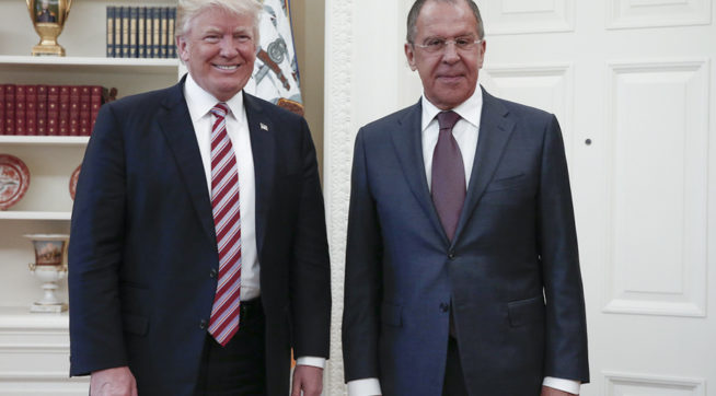 Putin offers transcript of Trump meeting with Lavrov