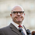 National Security Adviser H.R. McMaster pauses while speaking to members of the media outside the West Wing of the White House, Monday, May 15, 2017, in Washington. (AP Photo/Andrew Harnik)