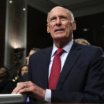 Director of National Intelligence Dan Coats arrives to testify at a Senate Armed Services Committee hearing on 'Worldwide Threats', Tuesday, May 23, 2017, on Capitol Hill in Washington. (AP Photo/Jacquelyn Martin)