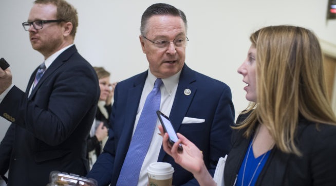 Iowa Rep. Rod Blum quits interview over town hall questions