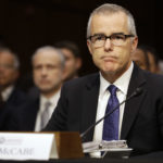 Acting FBI Director Andrew McCabe, attends a Senate Intelligence Committee hearing, on Capitol Hill in Washington, Thursday, May 11, 2017. It is an annual hearing about the major threats facing the U.S., but former FBI Director Jim Comey's sudden firing is certain to be a focus of questions. (AP Photo/Jacquelyn Martin)