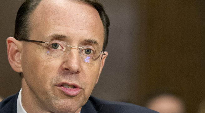 Rosenstein: DOJ Is 'After the Leakers, Not the Journalists'