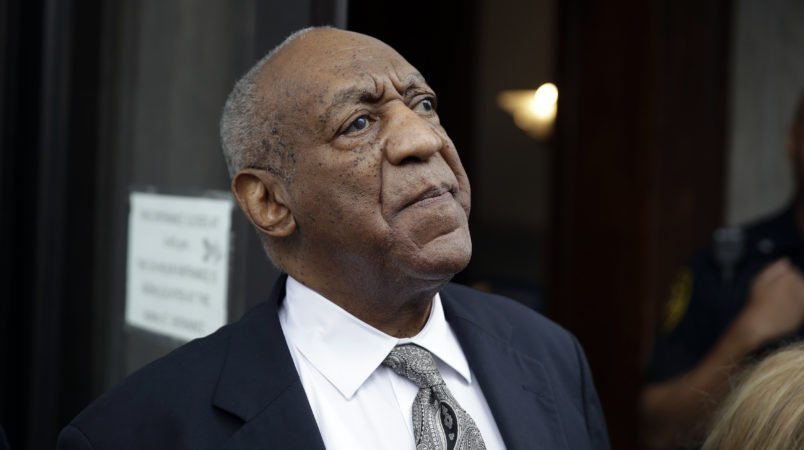 Bill Cosby  his sexual assault trial at the Montgomery County Courthouse in Norristown, Pa., Saturday, June 17, 2017. (AP Photo/Matt Rourke)