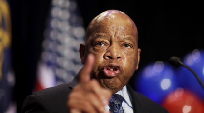 John Lewis cancels trip to civil rights museum, citing Trump's attendance