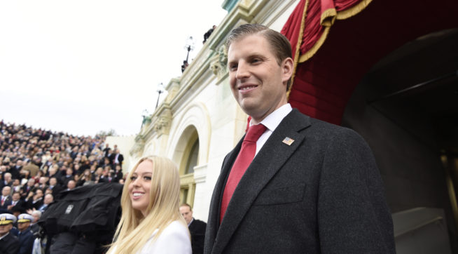 New York AG looking into Eric Trump Foundation