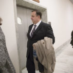 Walter M. Shaub Jr., director of the U.S. Office of Government Ethics, arrives for a scheduled meeting with the leaders of the House Oversight and Government Reform Committee, on Capitol Hill in Washington, Monday, Jan. 23, 2017.   (AP Photo/J. Scott Applewhite)