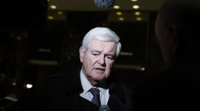 Newt Gingrich: Trump Cannot Obstruct Justice