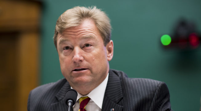 photo image Reports: Weekend Break-In At GOP Sen. Dean Heller's Las Vegas Office