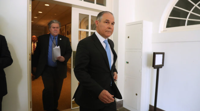NYT: Emails Show Pruitt's EPA Separated 'Friendly' And 'Unfriendly' Event Attendees