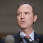 Rep. Adam Schiff, D-Calif., ranking member of the House Intelligence Committee, speaks after a closed meeting on Capitol Hill, Tuesday, June 6, 2017, in Washington. (AP Photo/Alex Brandon)