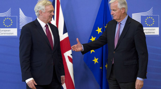 With the clock ticking, UK, EU play up chance of deal