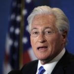 Marc Kasowitz personal attorney of President Donald Trump makes a statement at the National Press Club, following the congressional testimony of former FBI Director James Comey in Washington, Thursday, June 8, 2017. (AP Photo/Manuel Balce Ceneta)