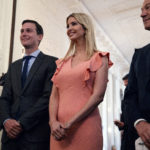 "White House senior adviser Jared Kushner, left, Ivanka Trump, center, and White House chief economic adviser Gary Cohn arrive for the ""American Leadership in Emerging Technology"" event with President Donald Trump in the East Room of the White House, Thursday, June 22, 2017, in Washington. (AP Photo/Evan Vucci)"