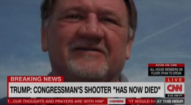 Sanders condemns shooter who volunteered for his campaign, GOP blames Dems