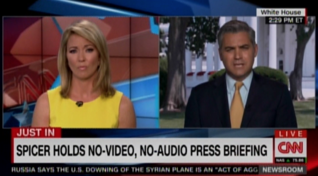 CNN's Jim Acosta Chides White House for 'Suppression of Information'