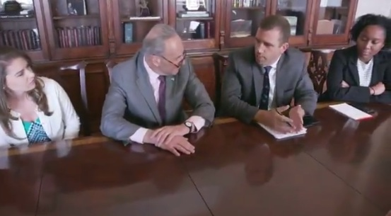 Schumer And His Staff Mock Trump's Praise-Filled Cabinet Meeting ...