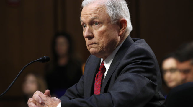Sessions calls notion he colluded with Russian Federation 'detestable lie'