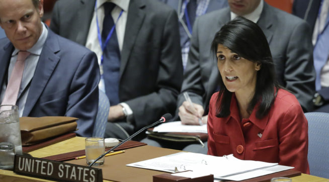 Top aides to Nikki Haley resign