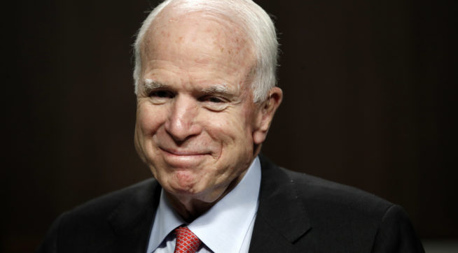 McCain Defends Decision To Give Comey The Dossier: It 'Had To Be Investigated'