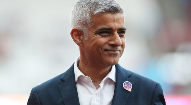 photo image London Mayor: I'm Not Sure UK Should 'Roll Out The Red Carpet' For Trump