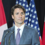 Prime Minister Justin Trudeau speaks to reporters at the National Governor's Association (NGA) Special Session - Collaborating to Create Tomorrow's Global Economy Friday, July 14, 2017 in Providence, Rhode Island.THE CANADIAN PRESS/Ryan Remiorz