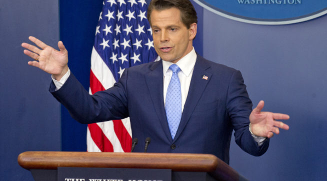 Anthony Scaramucci threatens to 'fire everybody' to stop White House leaks