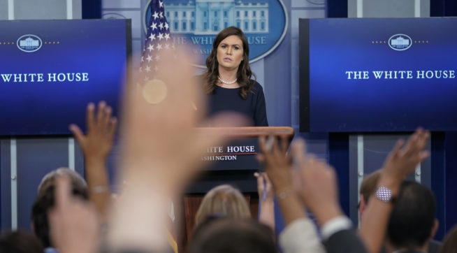 White House: Trump's throat 'was dry'