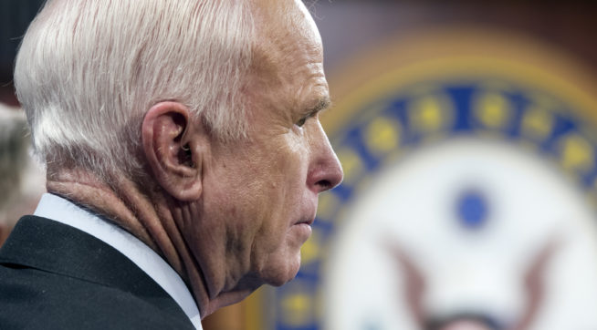 Sen. McCain: 'This Is My Last Term'