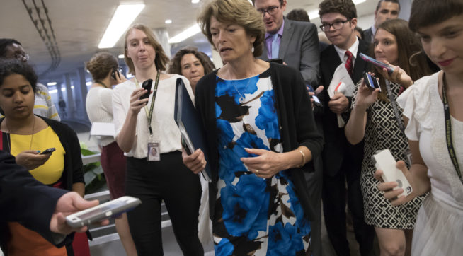 Trump dings Murkowski for no-vote on health care debate