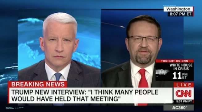 Anderson Cooper Gets Fed Up With Trump Official Dodging His Questions