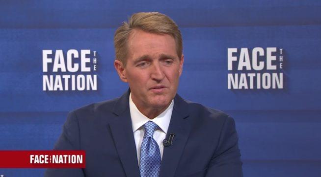 The GOP's 'tremendous powers of denial': Sen. Jeff Flake's case against Trump