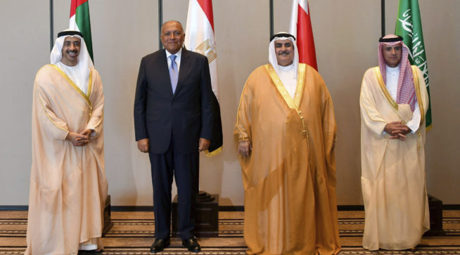 Four Arab States ready for dialogue with Qatar
