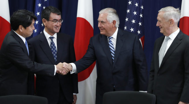 USA and Japan agree to boost defenses against North Korea