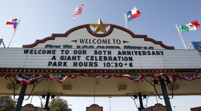 Six Flags over Texas gets ready, Thursday, March 3, 2011, to open their 50th season this weekend. (Star-Telegram/Rodger Mallison)