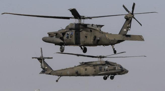U.S. military helicopter crashes off the coast of Yemen
