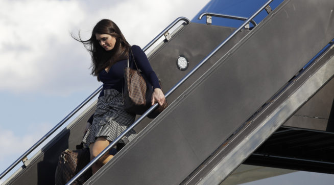 FBI Warned Hope Hicks About Emails From Russian Operatives