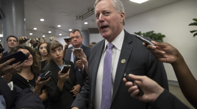 Freedom Caucus leader warns: Don't attach Harvey aid to debt-ceiling increase
