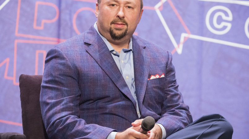 Jason Miller attends Politicon at The Pasadena Convention Center on Sunday, Aug. 30, 2017, in Pasadena, Calif. (Photo by Colin Young-Wolff/Invision/AP)