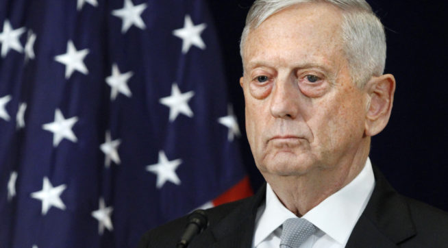 photo image Defense Sec. Mattis: US Must Keep All 3 Parts Of Its Nuclear Force