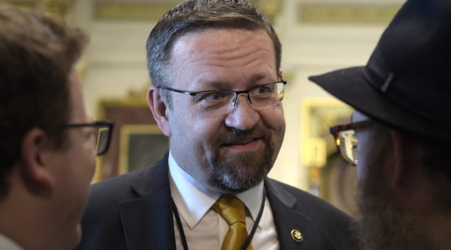 Trump Security Adviser Sebastian Gorka Out At White House