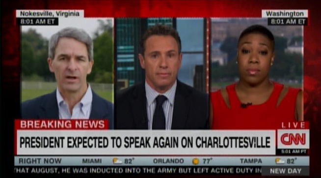 Symone Sanders told to 'shut up' during CNN debate