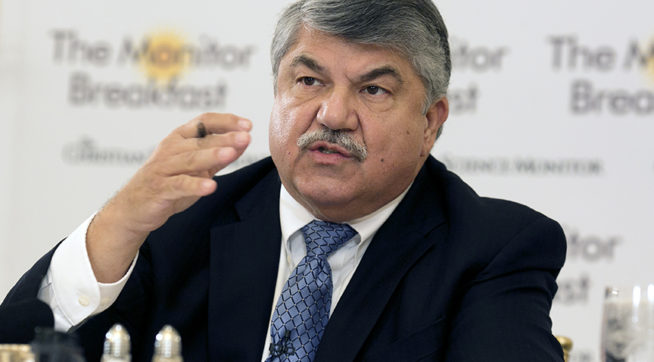CIO's Trumka: Some White House aides 'turned out to be racist'