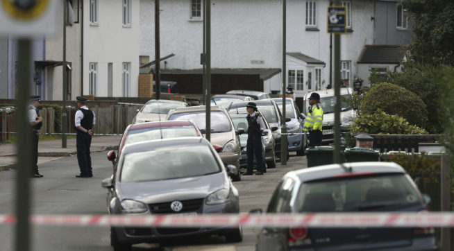 Ex-foster duo questioned over London subway bomb