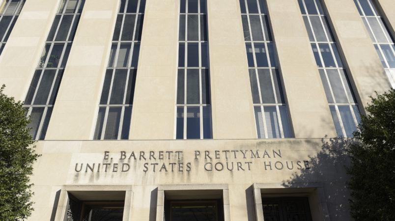 Federal court in Washington, Monday, Feb. 13, 2017.  (AP Photo/Susan Walsh)