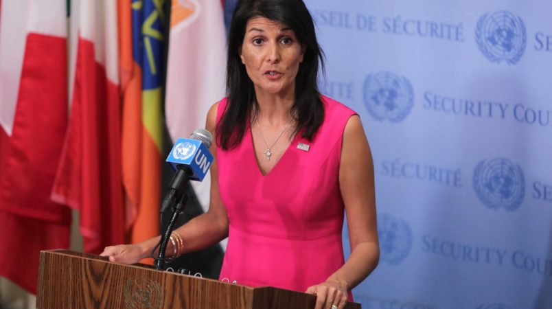 Haley, Pompeo to UN Human Rights Council: We're outta here