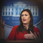 White House press secretary White House press secretary Sarah Huckabee Sanders speaks during the daily news briefing at the White House, in Washington, Tuesday, Sept. 5, 2017. Huckabee Sanders discussed the Deferred Action for Childhood Arrivals, or DACA, and other topics. (AP Photo/Carolyn Kaster)