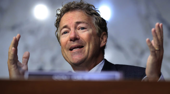 Rand Paul Flip-Flops On Pompeo, Now Pledges Support