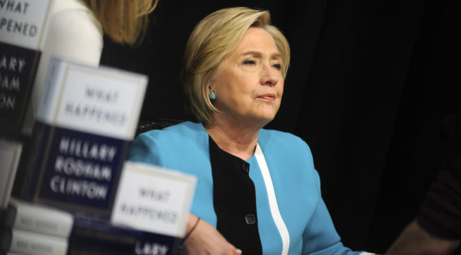 Hillary Clinton launches new book