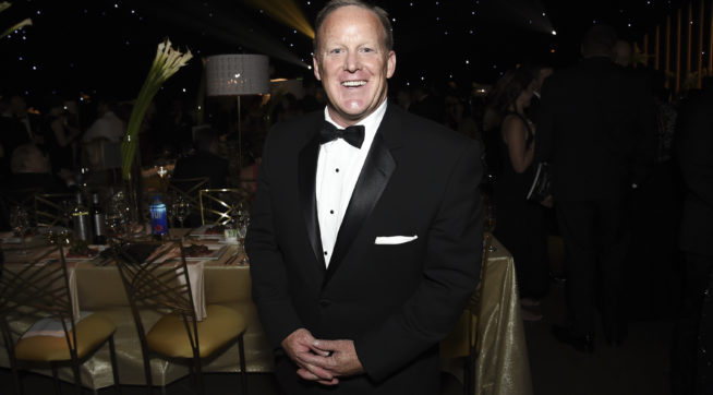 Sean Spicer fibs again - Emmy audience not 'largest ever, period'